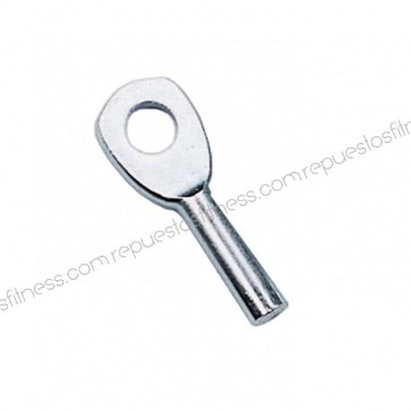 Olho marinho zincagem para cabo de Ø3,175 mm, não plastificado