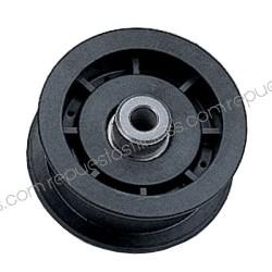Riemenscheibe für Kevlarž-außen-Ø 76,2 mm, breite 25,4 mm - bohrung, Ø9,5mm