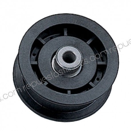 Pulley for Kevlar outer Ø 76.2 mm - wide 25.4 mm - hole Ø9,5mm