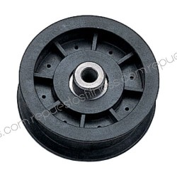 Pulley for Kevlar outer Ø 88.9 mm - width 25.4 mm - hole Ø9,5mm