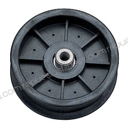 Pulley for Kevlar outer Ø 114.3 mm - Width - 25.4 mm - hole Ø9,5mm