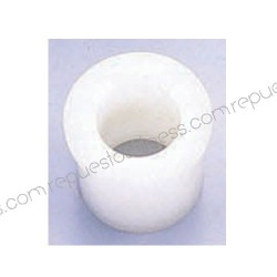 Buchse/buchse nylon - innen-Ø25,4mm - exterior1 Ø38,1mm - exterior2 44,5 mm