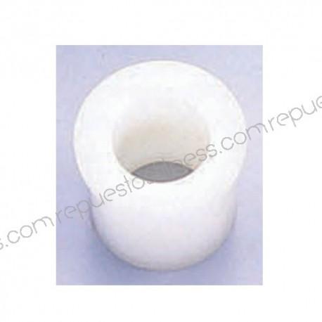 Buje/casquillo de nylón - interior Ø25,4mm - exterior1 Ø38,1mm - exterior2 44,5mm