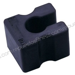 Weight extra rubber 3kg-for attaching to weight machines