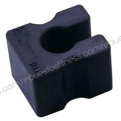 Zusätzliche gewicht-gummi-3kg für das andocken von geräten und maschinen, bodybuilding