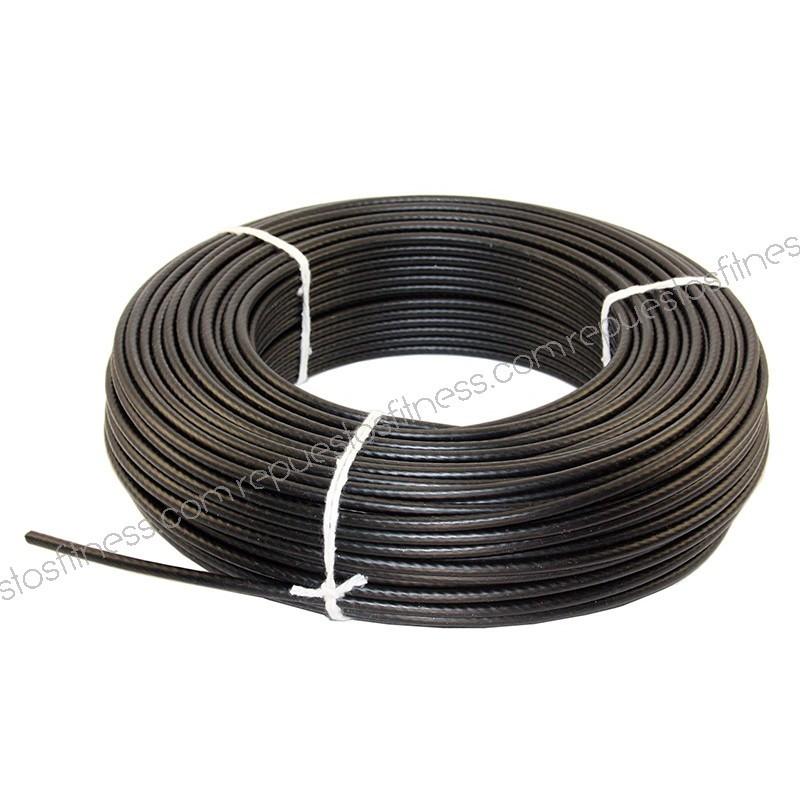 Cable de acero plastificado de 5mm grosor m quinas for Cable de acero precio