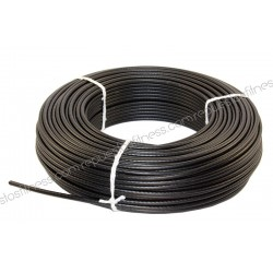 25 meters cable steel laminated Ø5 mm thickness for gym equipment